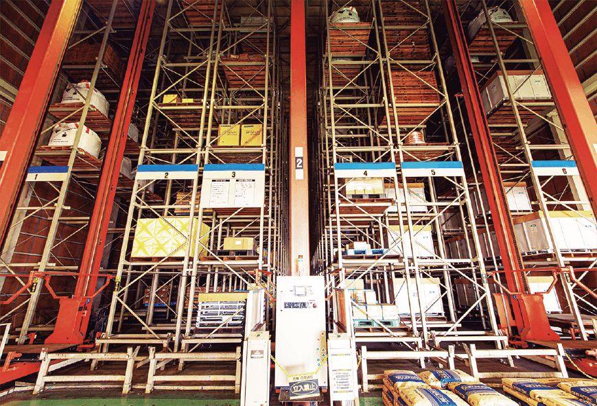 立体式自動ラック倉庫